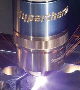 Torche plasma HPR HYPERTHERM en coupe